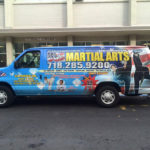 USA Martial Arts bus